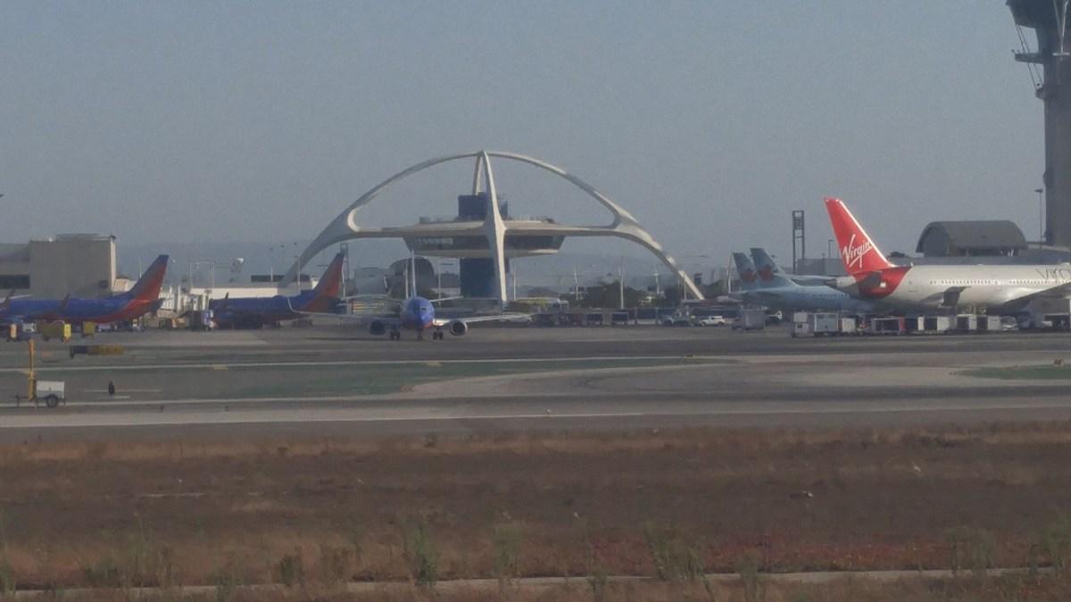 Sacramento Flight and LAX Plane Spotting