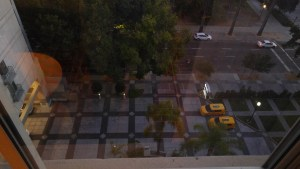 L-Street from the room