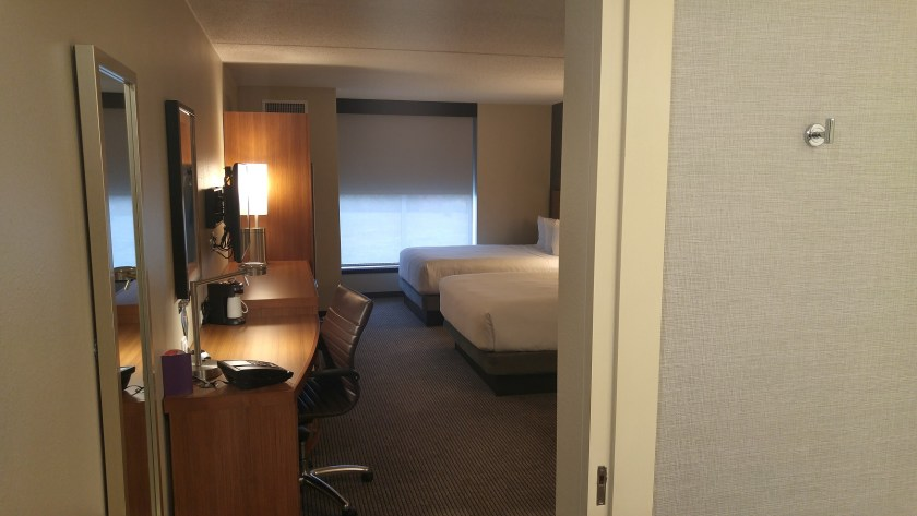 First glimpse: roomy!