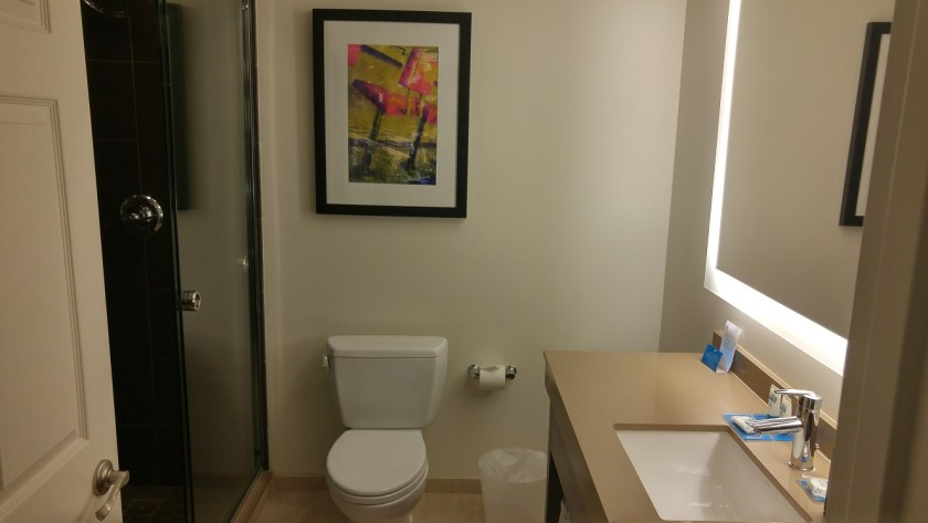 Roomy Restroom