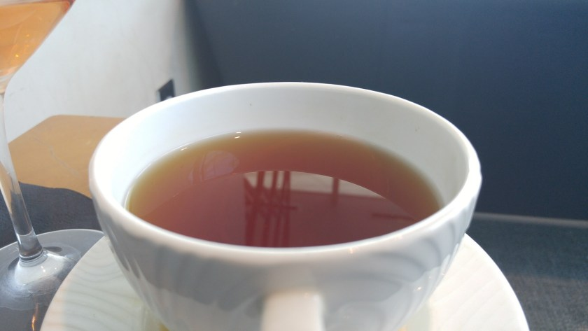 A nice cup of tea after a massage!