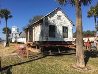 The Oesterreicher-McCormick Homestead, a cracker cabin under restoration