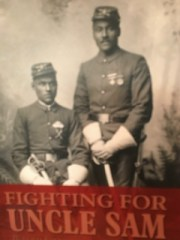 Fighting for Uncle Sam, Read About the Buffalo Soldiers in the Frontier Army as you travel along!