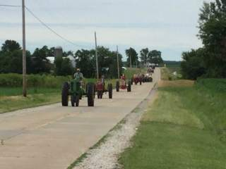 Route 66 Tractor Drive, remembering