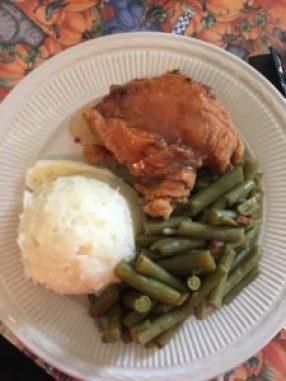 Aunt Bee's fried chicken