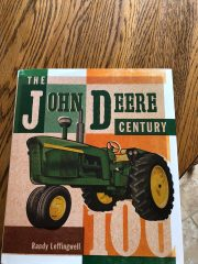 The John Deere Century, by Randy Leffingwell - a book review by Cindy Ladage