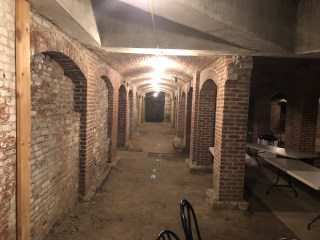 A Catacombs tour in Indianapolis
