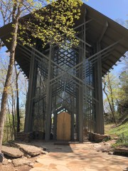 Thorncrown Chapel an architectural wonder dedicated to the glory of God