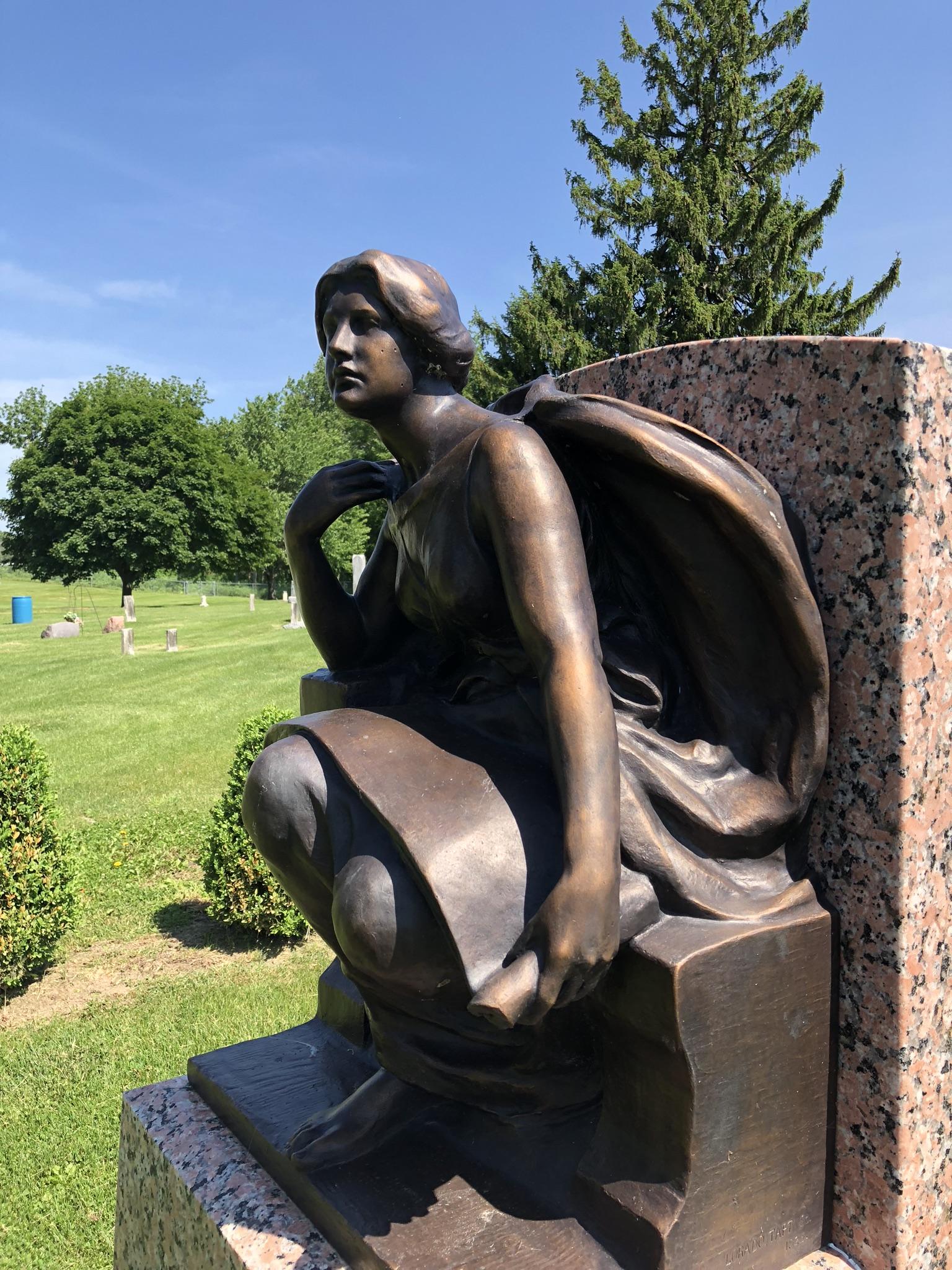 Lorado Taft Sculpture