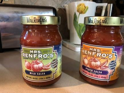 Mrs. Renfro's peach salsa.