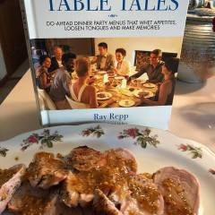 Table Tales a book with do ahead dinner menues etc, what fun