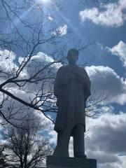 Civil War Soldier Boy - a Statue