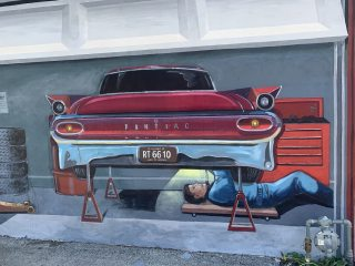 Murals & Museums in Pontiac, IL