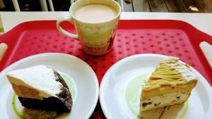 フラノデリスでカフェタイム!ケーキが美味しい!