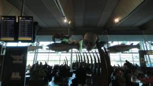 ウェリントン空港のロードオブザリング