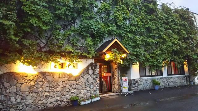 北の国からで有名なレストラン、「くまげら」外観!
