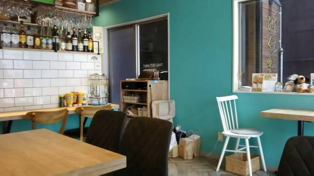 盛岡のSlow Cafe(スロウカフェ)、店内の席!