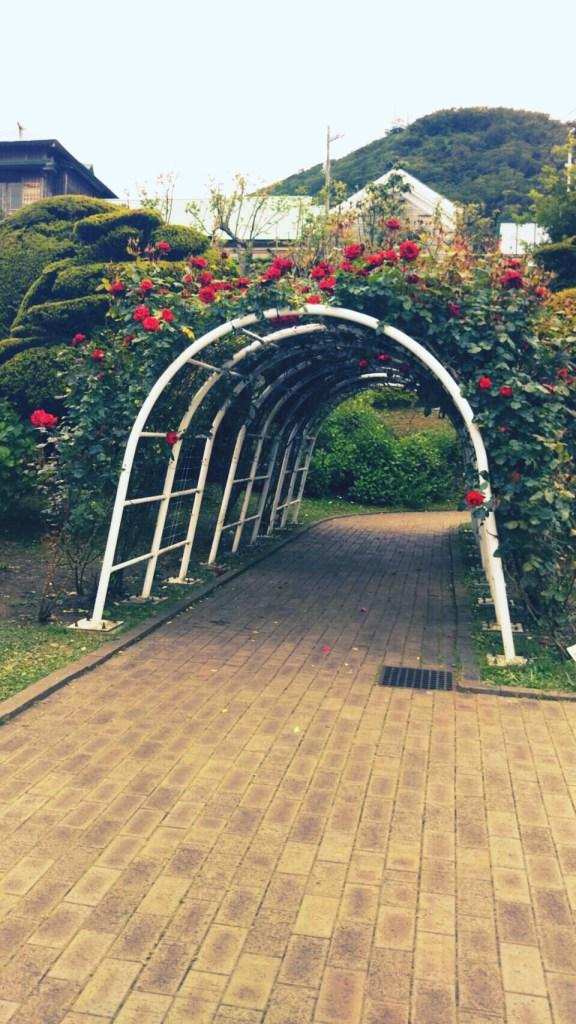 旧イギリス領事館の庭園