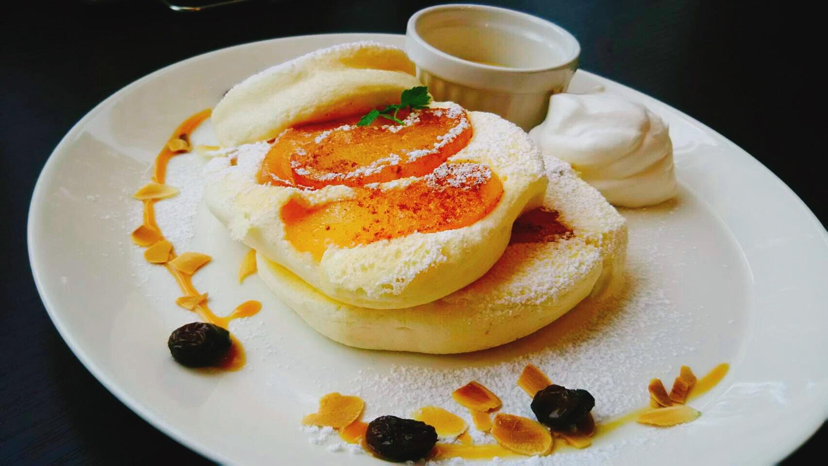 札幌のカフェ「カノンパンケークス」のとろけるパンケーキ!