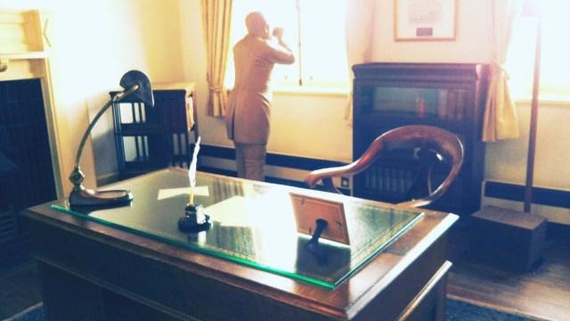 旧イギリス領事館の展示室