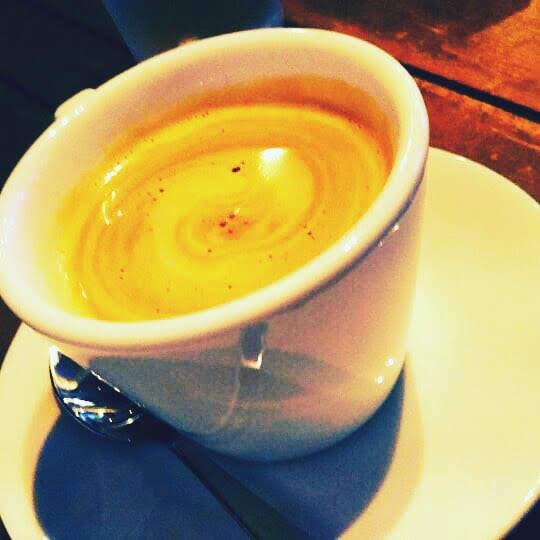 洞爺のカフェ、キートスのコーヒー
