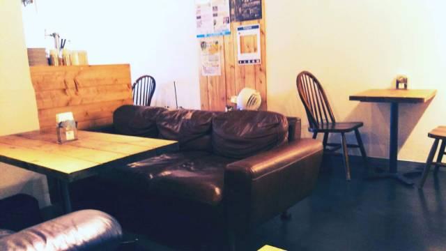 洞爺の山岳喫茶、店内の様子!