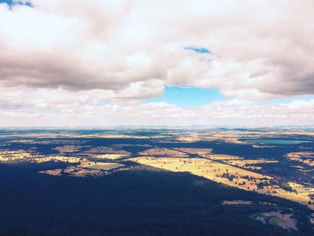 グランピアンズ国立公園の景色