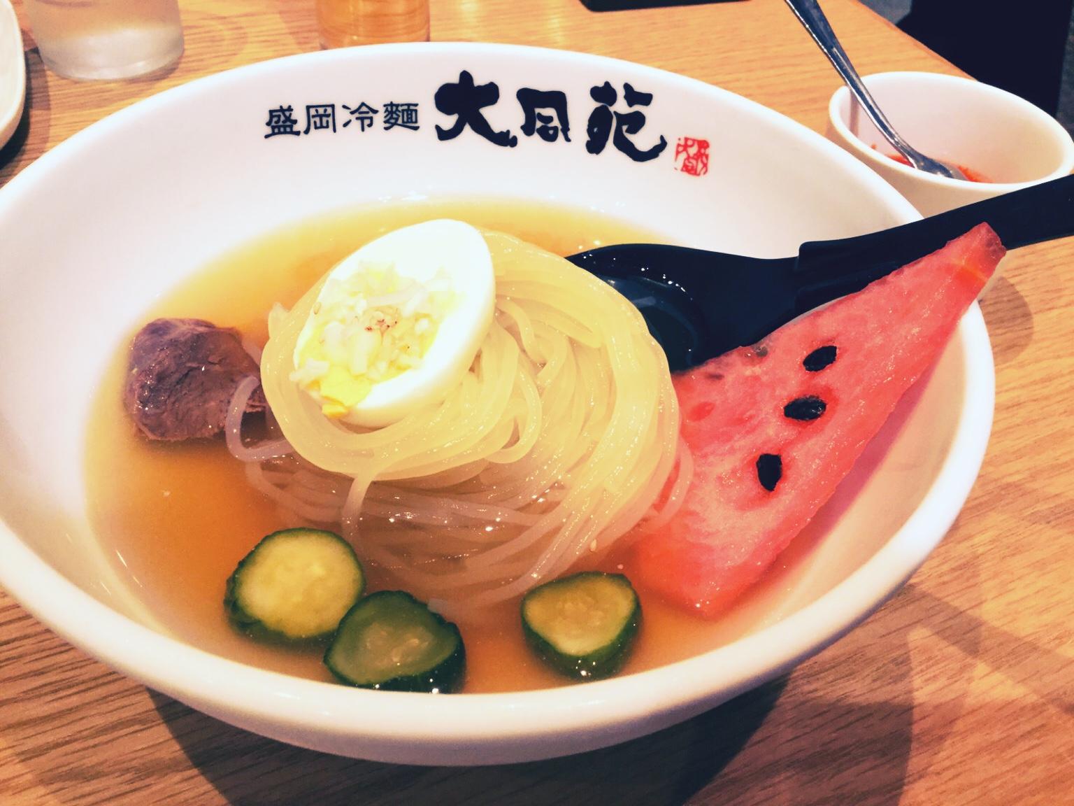 大同苑の冷麺を食べてみた!in 盛岡