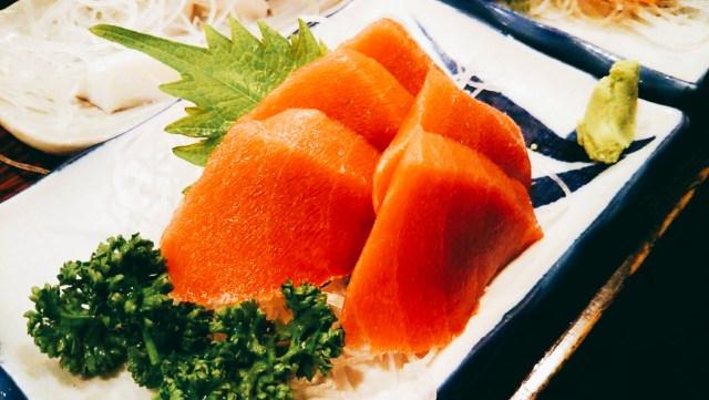 函館「魚さんこ」まぐろの刺身