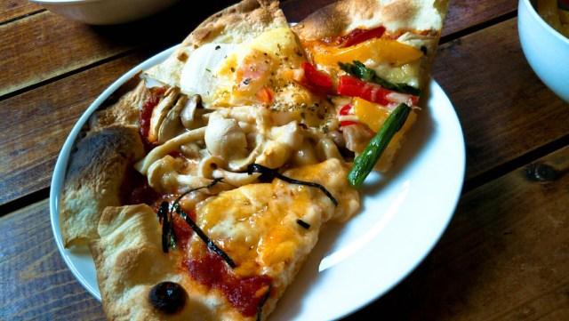 奥入瀬「オルトナーラ」色とりどりのピザ