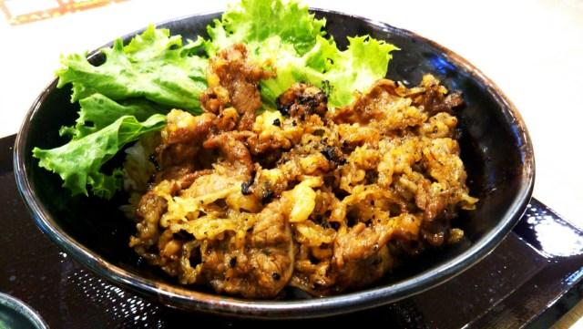 肉のヤマキ商店「カルビ焼肉丼」