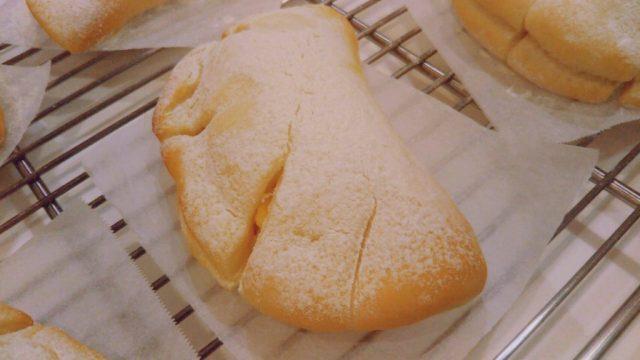 白いクリームパン!ABC