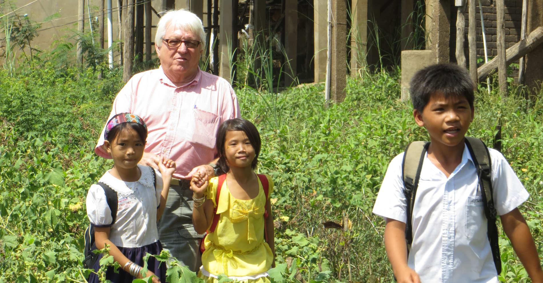 Traveling Apostles Walking With Children