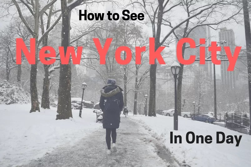 How to See New York City in One Day