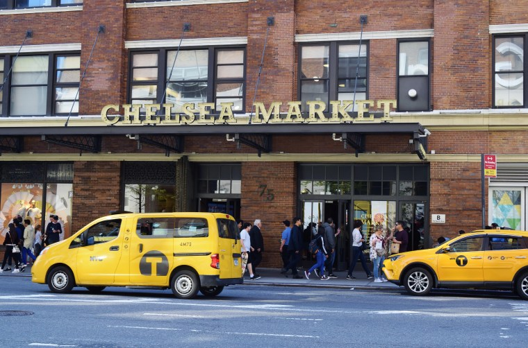 This image was taken outside of Chelsea Market in Manhattan, NY.
