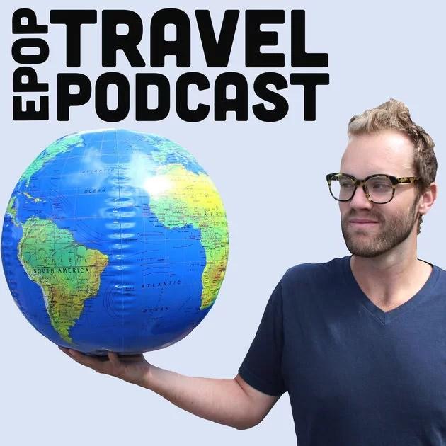 EPOP Travel Podcast Logo