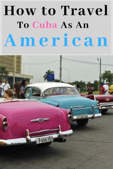 How to Travel to Cuba as an American from @travelingatlas #travel #cuba #havana