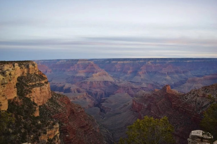 Views from the Rim Trail in the Grand Canyon