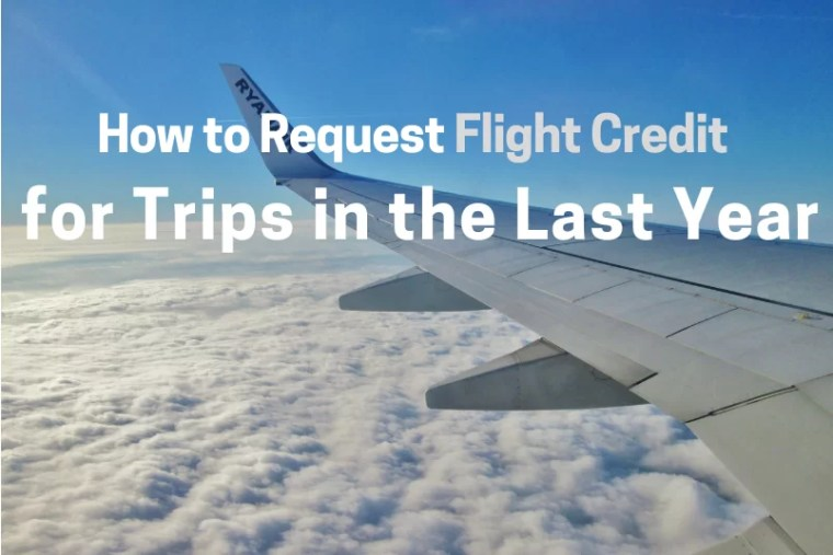 How to Request Flight Credit