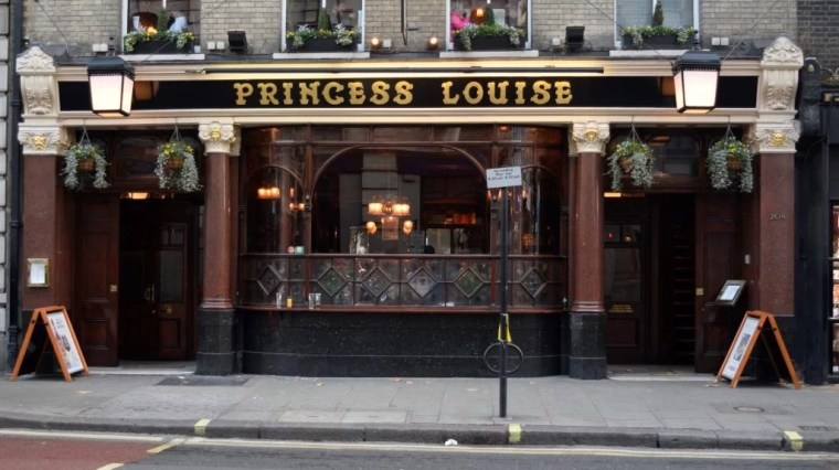 Princess Louise London Pubs