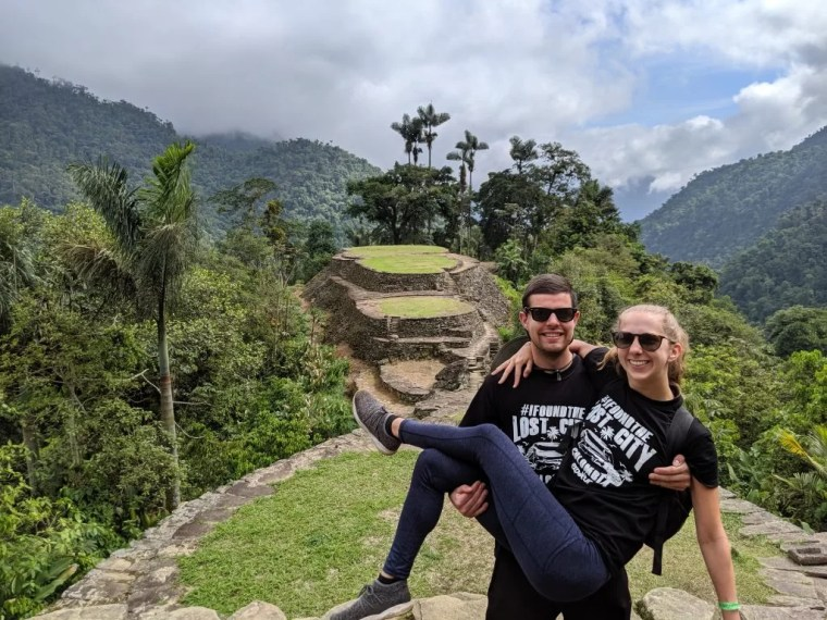 Lost City Trek with Expotur in Colombia.