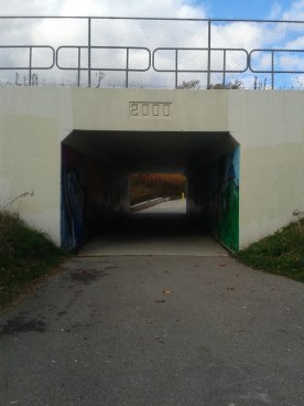 I loved this short tunnel...
