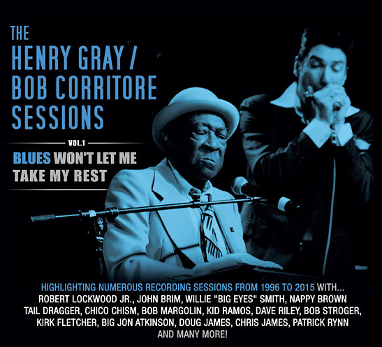album/CD cover for  The Henry Gray/Bob Corritore Sessions