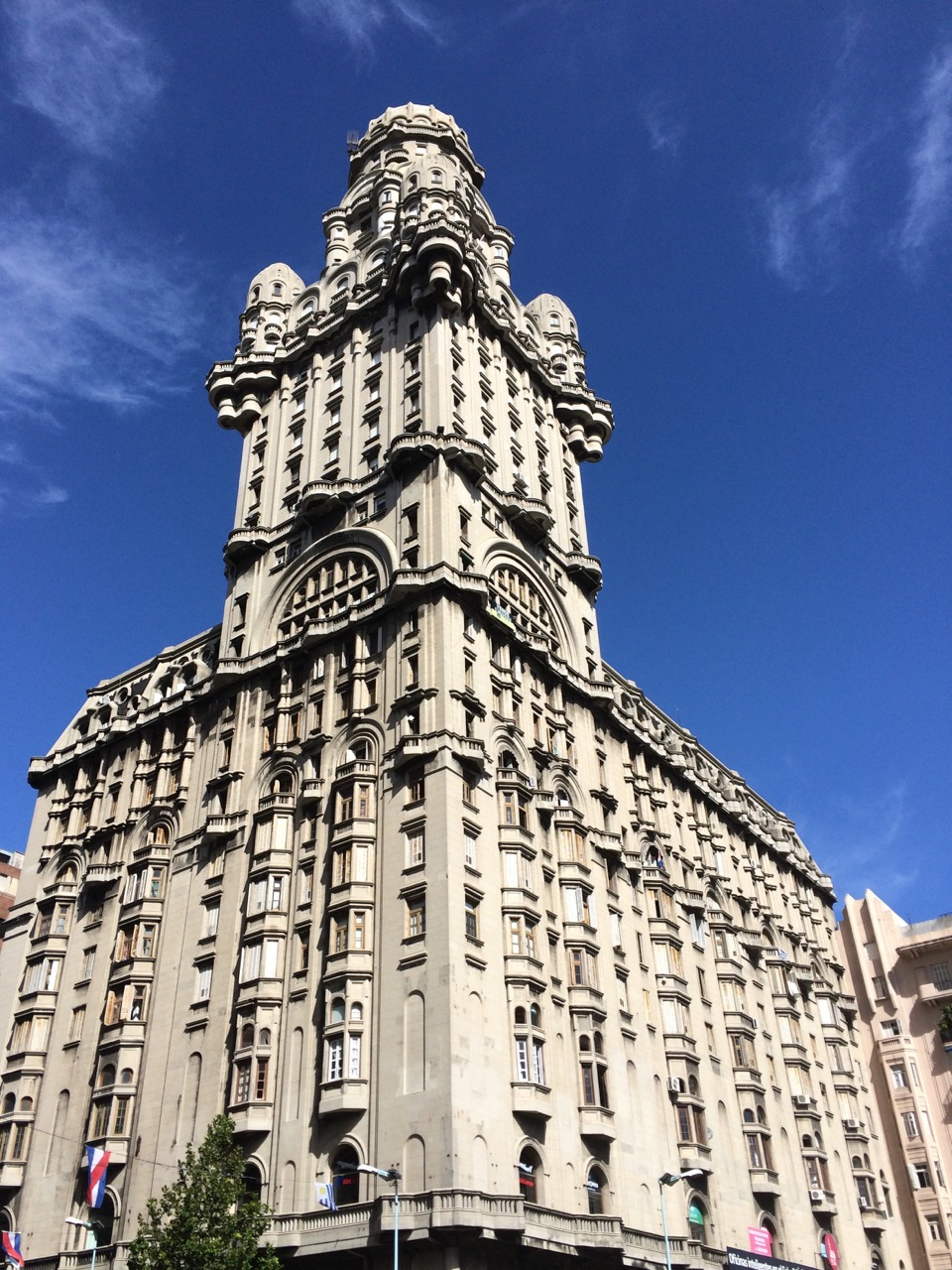 The eclectic Palacio Salvo is the most recognizable one