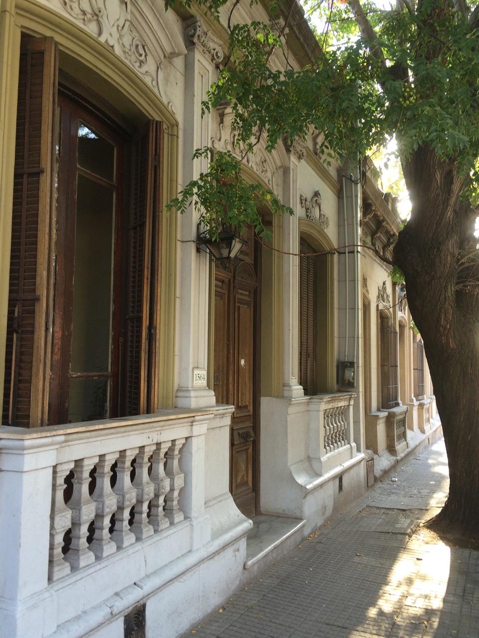 The residential area near Mercado Agricola de Montevideo