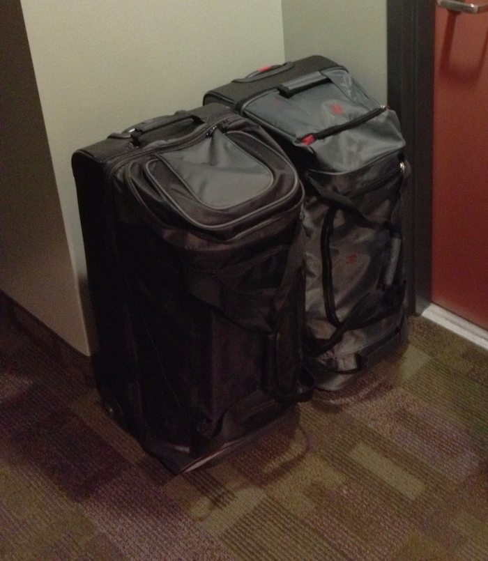 Our travel bags