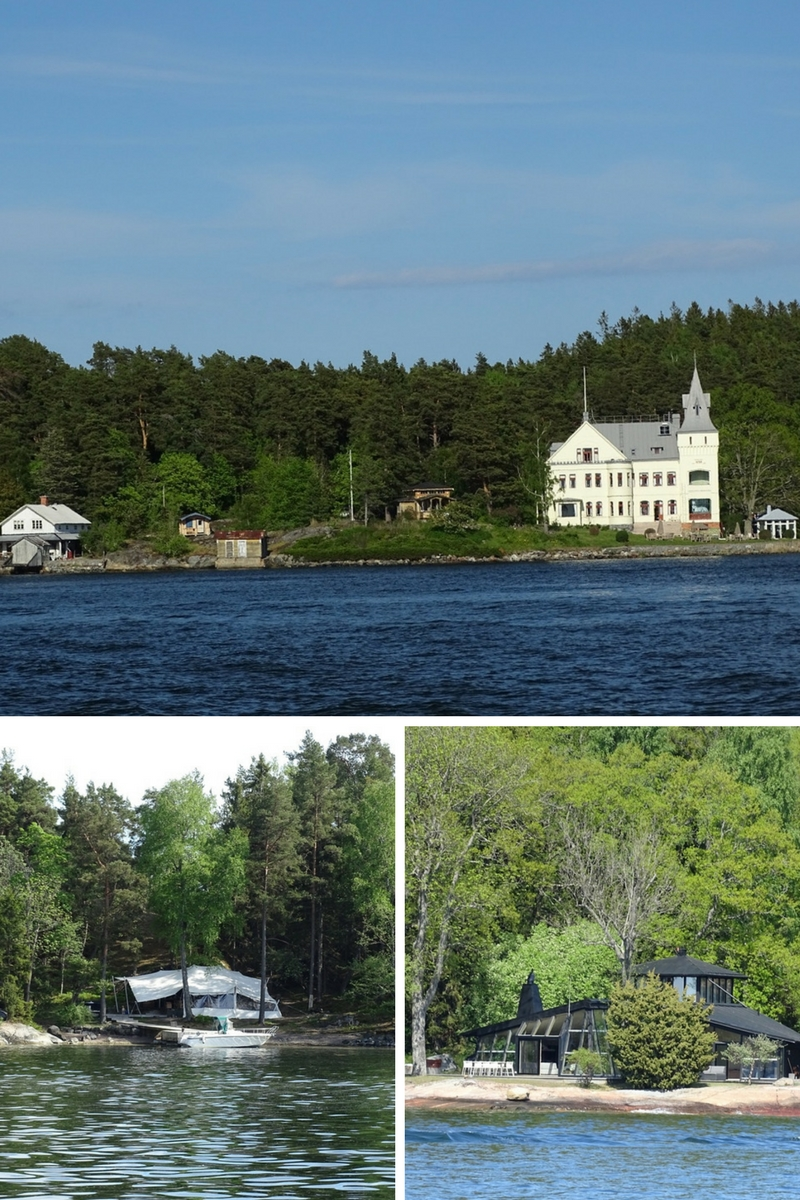Vacation homes of Stockholm archipelago
