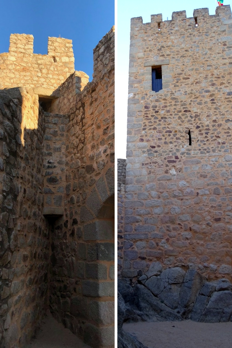 The watchtower and the keep