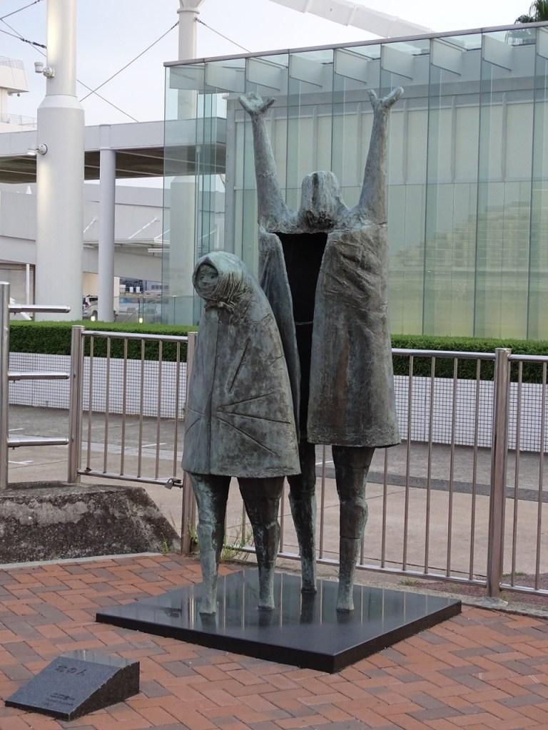 Meriken park sculptures