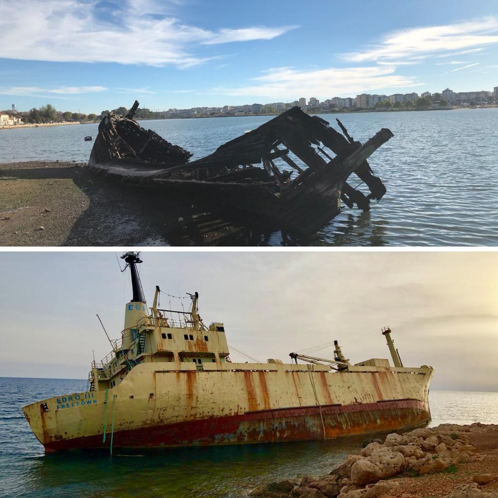 Shipwrecks around the world